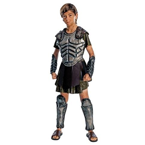 Rubies Savaşçı Perseus Çocuk Kostüm Lüks 12-14 Yaş Renkli